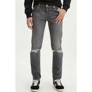 LEVI'S 511 Slim-Fit Ripped Knees Stretch 36×34